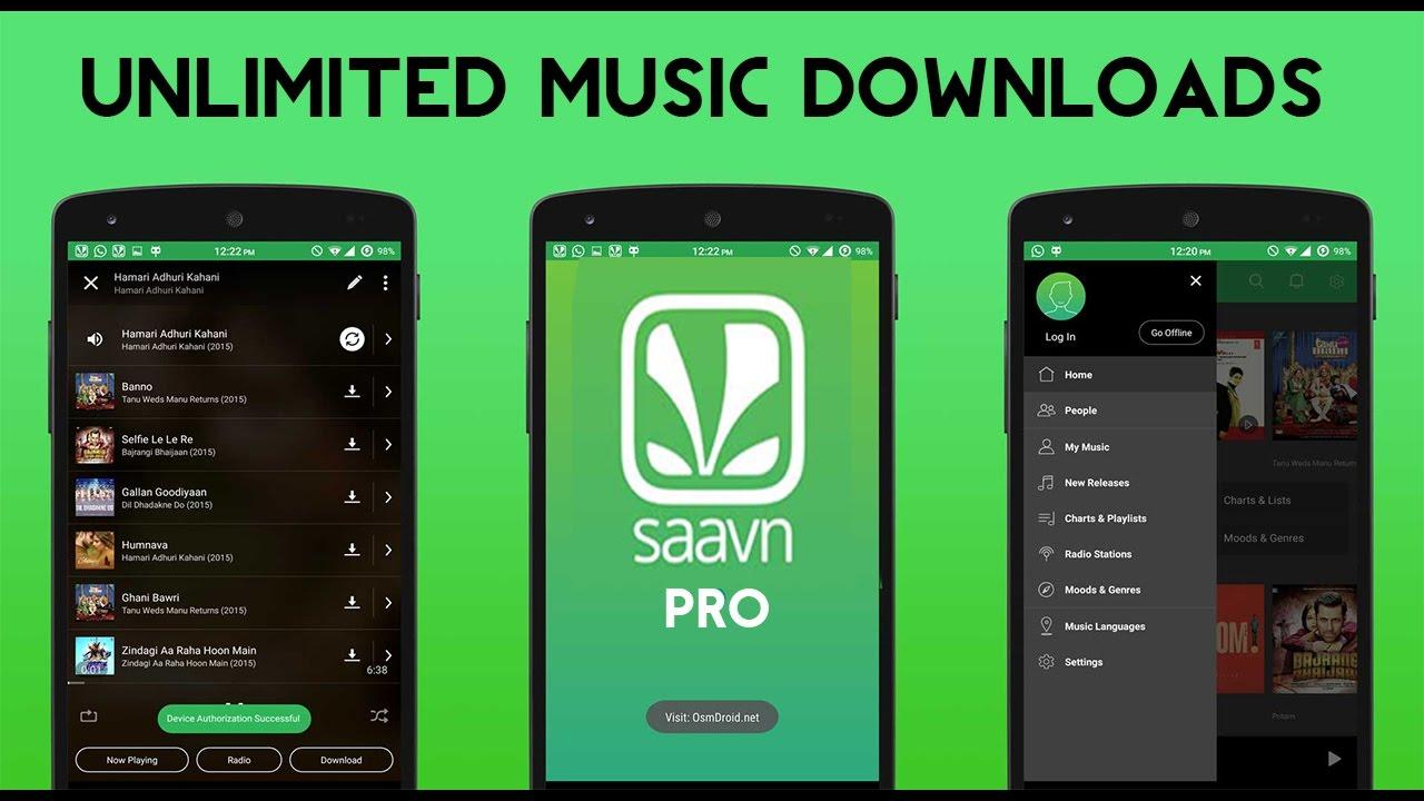 Saavn Pro APK Cracked