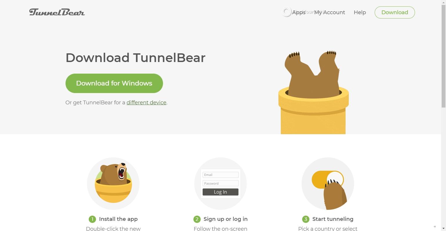 Download TunnelBear