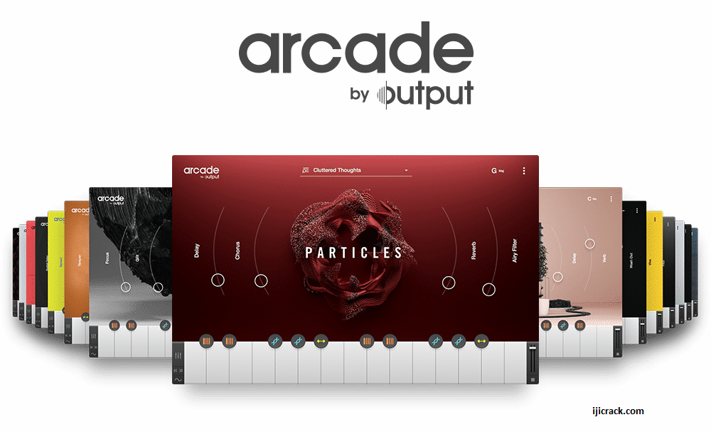 Output Arcade VST Crack
